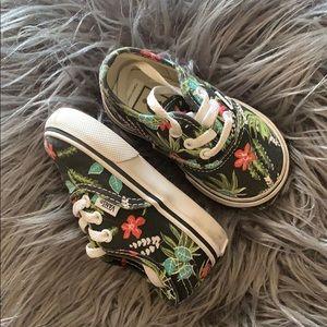 Hawaiian Floral Vans